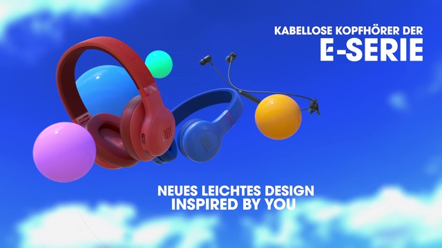 JBL by Harman - E-Series Kopfhörer Wireless Video 3