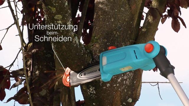 Gardena - Teleskop-Hochentaster/-Heckenscheren Video 3