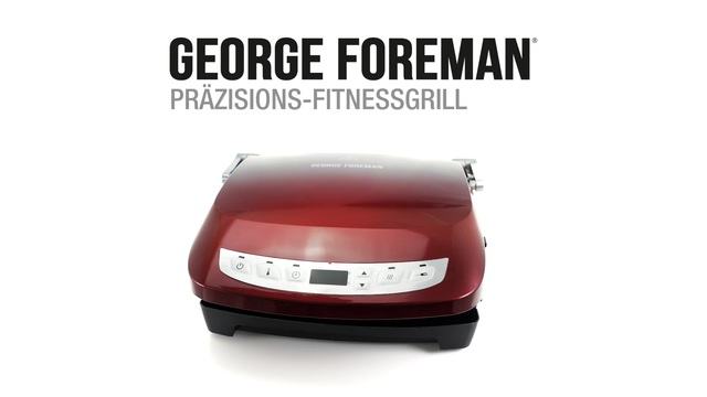 George Foreman - Präzisions-Fitnessgrill Video 3