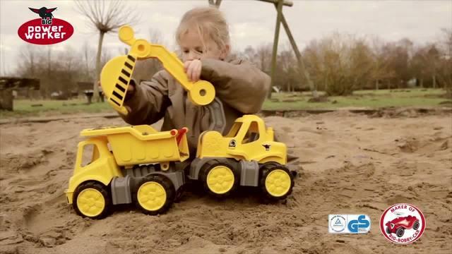 BIG - Power Worker Fahrzeuge Video 5