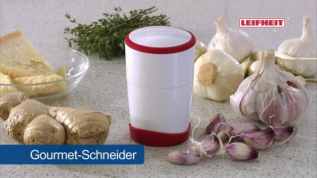 Leifheit - Gourmet-Schneider Video 2