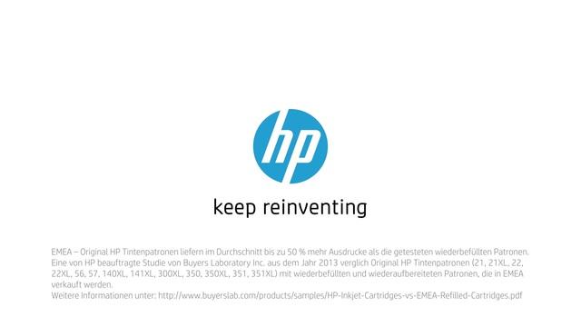HP - Tinte neu erfinden mit Rob & Thom - Magie Video 4