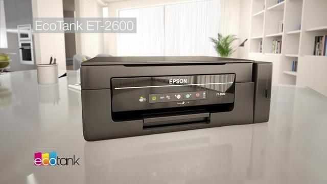 Epson - EcoTank ET-2600 Video 3
