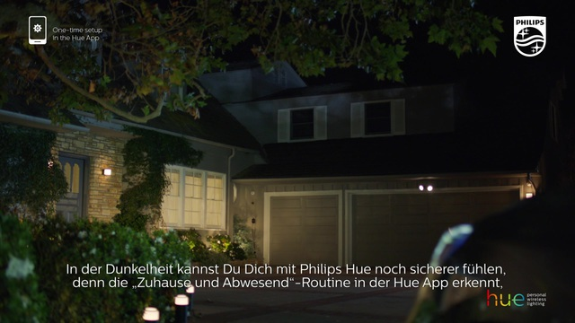 """Philips - Hue - """"zuhause & abwesend""""-Routine Video 11"""