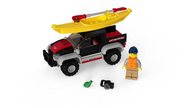 LEGO City - Kajak-Abenteuer 60240 Video 3