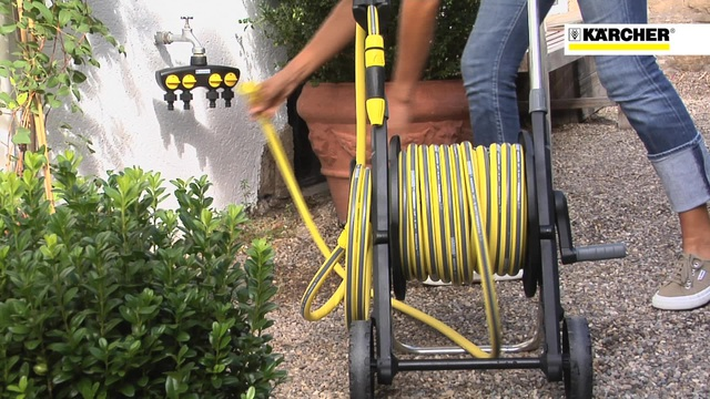Watering Systems Hose Trolley Video 3