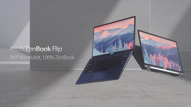 ASUS - ZenBook Flip Video 3