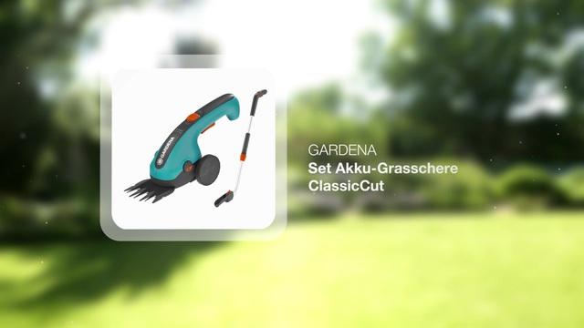 Set Battery Grass Shears ClassicCut Video 3