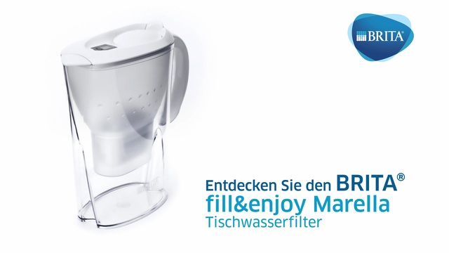 Brita - fill&enjoy Marella Tischwasserfilter Video 3