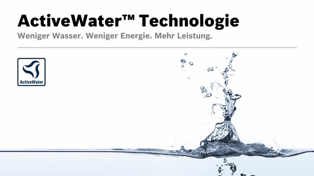 Bosch - ActiveWater Technologie Video 16