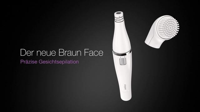 Braun - Face Gesichtsepilierer Video 3