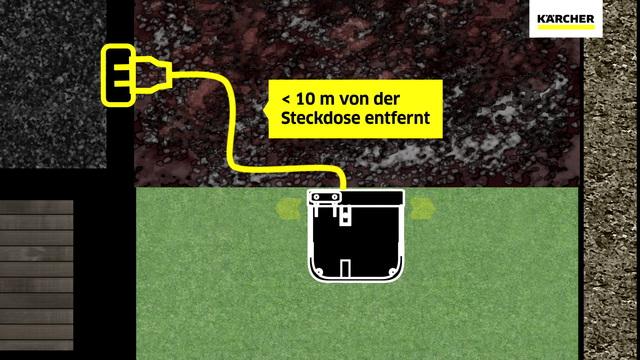 Mähroboter RLM 4  - Aufbau Ladestation Video 27