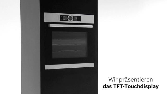 Bosch - TFT-Touchdisplay der Bosch Serie 8 Video 9