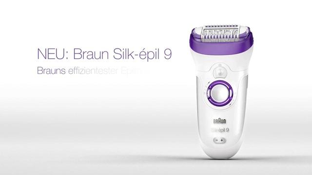 Braun - Silk-épil 9 Video 3
