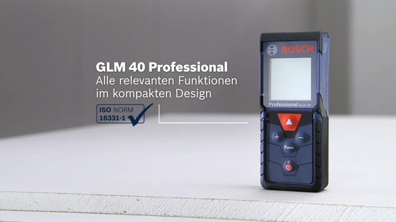 Bosch Entfernungsmesser Stativ : Glm laser entfernungsmesser bosch professional