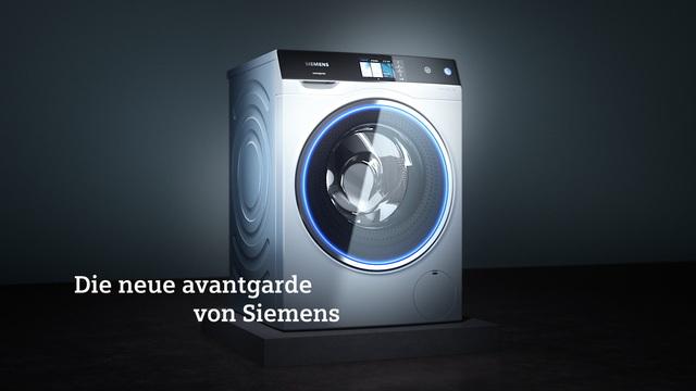 Siemens - Avantgarde Waschmaschine Video 3