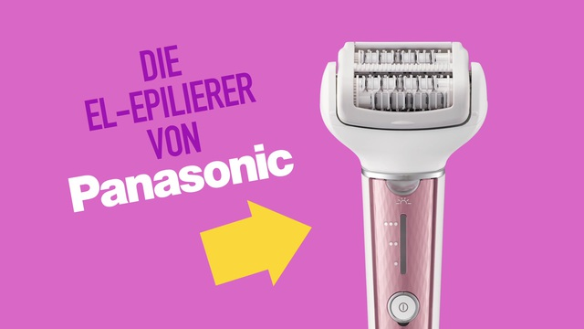 Panasonic - EL Epilierer Video 3