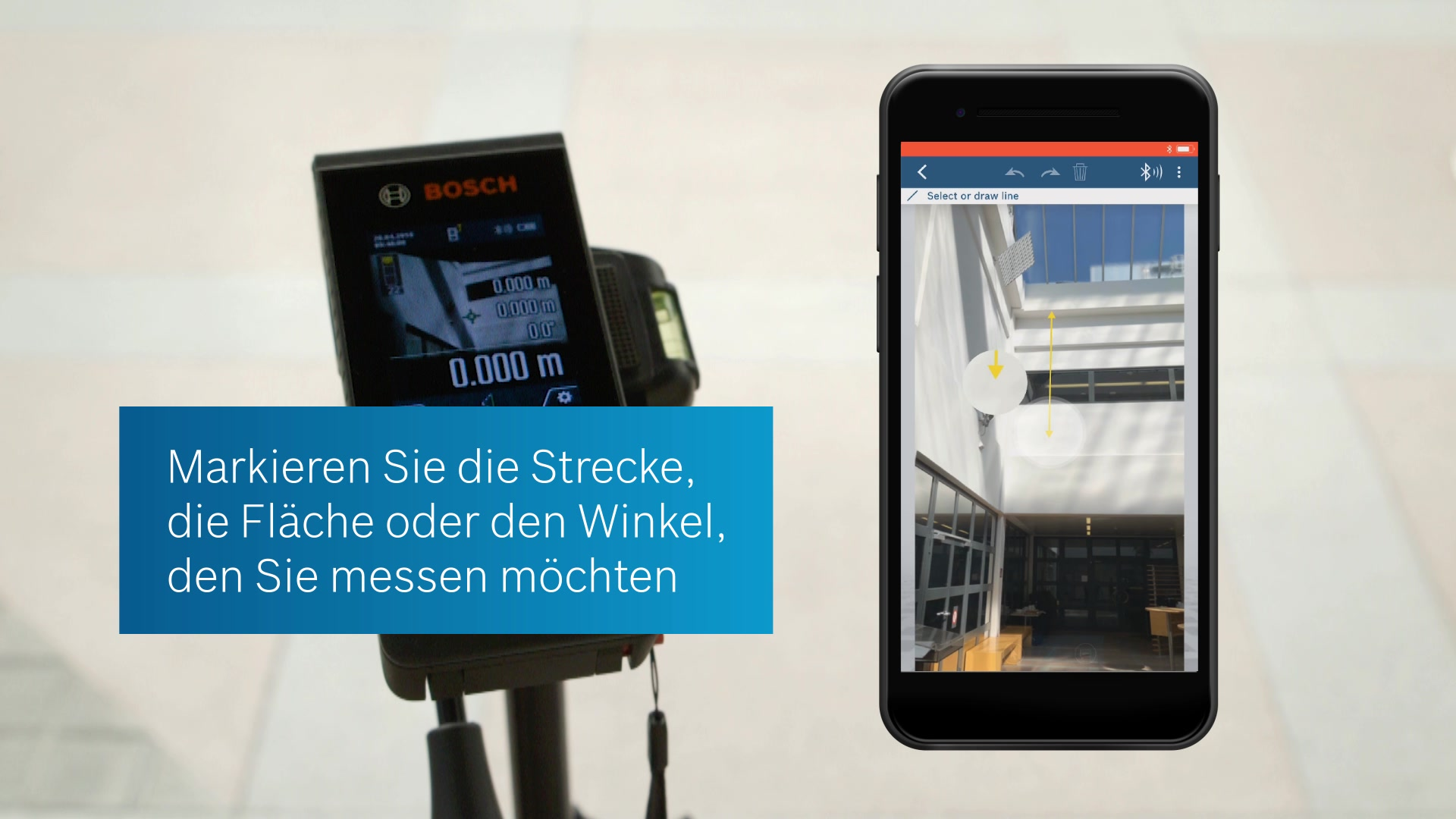 Bosch Entfernungsmesser Stativ : Glm c laser entfernungsmesser bosch professional