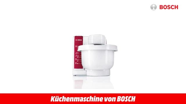 MUM 4825 WEISS KÜCHENMASCHINE Video 3