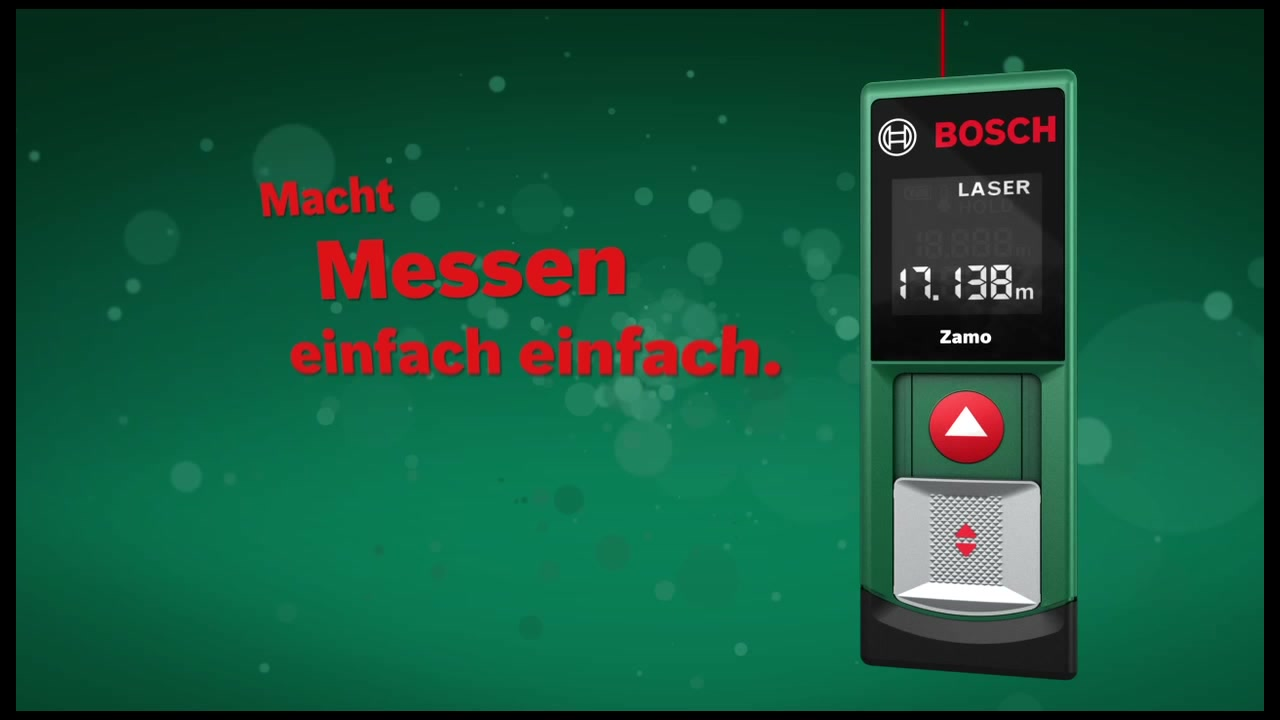 Bosch Laser Entfernungsmesser Zamo Ii : Bosch laserentfernungsmesser »zamo« hagebau.de