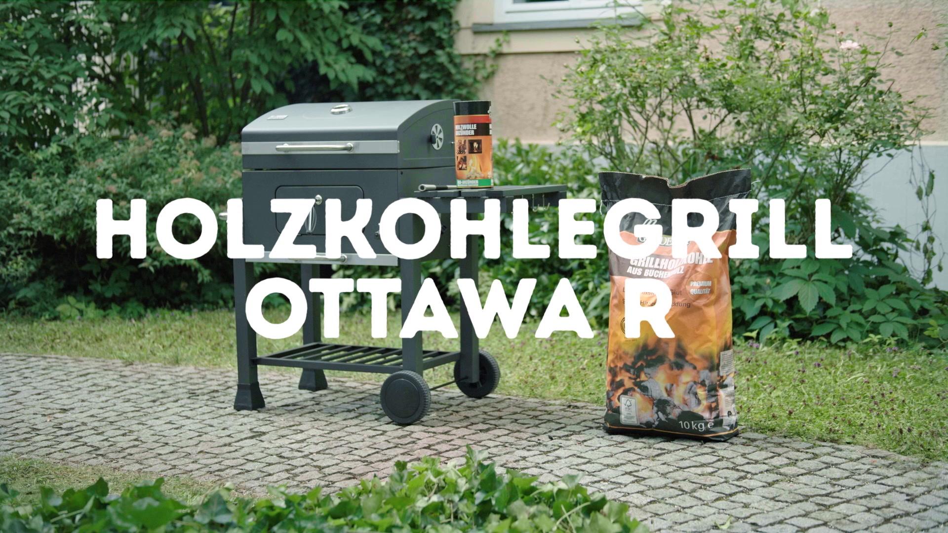 Tepro Toronto Holzkohlegrill Hagebau : Mr gardener holzkohlegrill ottawa r« hagebau