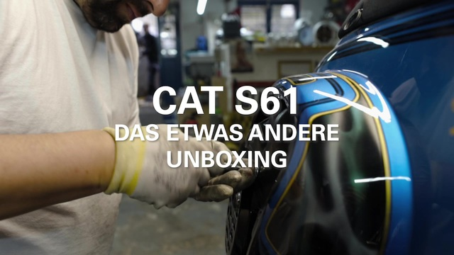 Caterpillar - CAT S61 - Unboxing Video Video 13