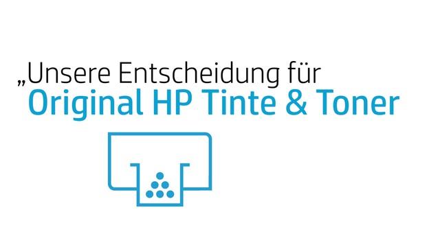 HP - 3 Faktoren für Original HP Tinte & Toner Video 4