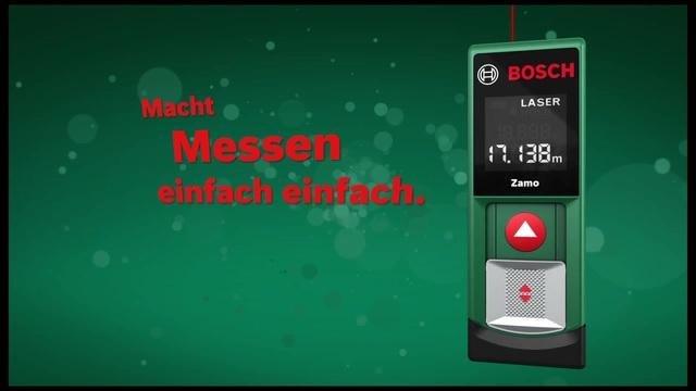 Bosch Laser Entfernungsmesser Zamo : Bosch zamo laser entfernungsmesser arbeitsbereich