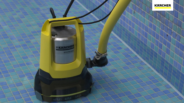Submersible flat suction pumps Video 6