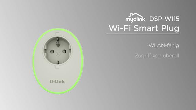 D-Link - mydlink DSP-W115 Wi-Fi Smart Plug Video 3