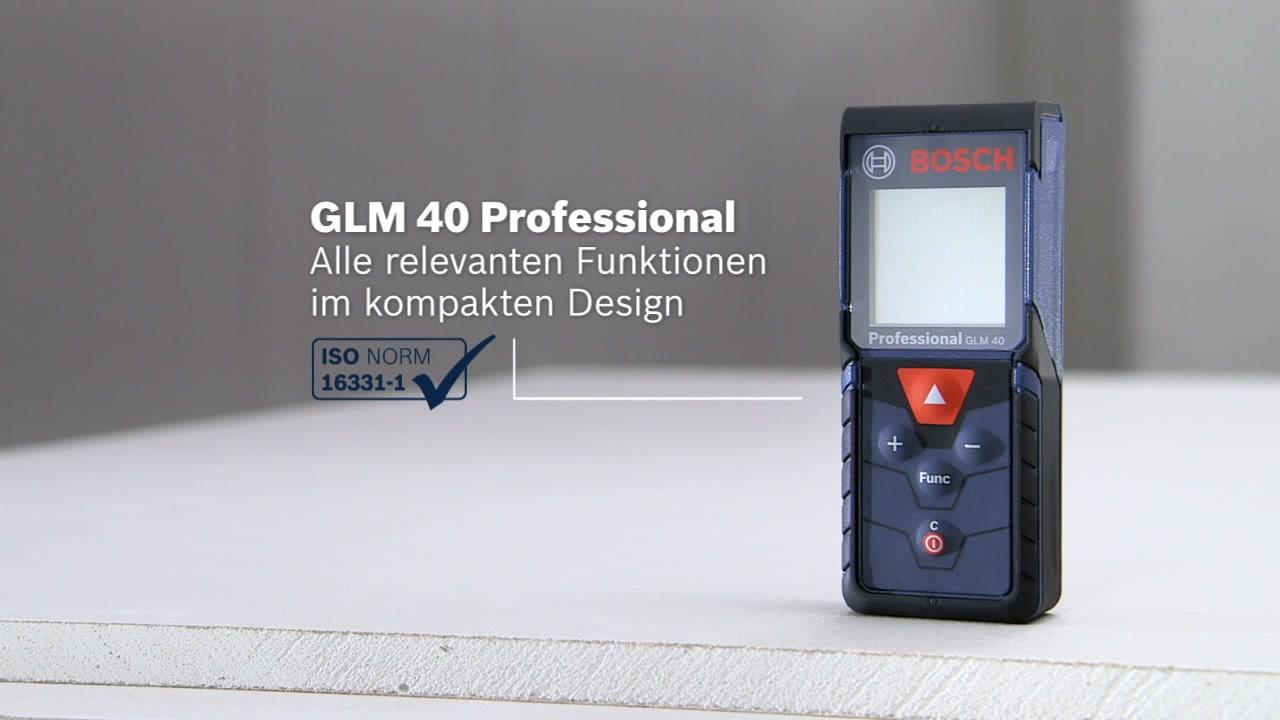 Infrarot Entfernungsmesser Bosch : Glm laser entfernungsmesser bosch professional