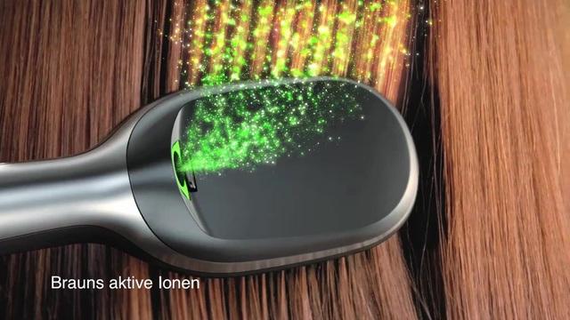 Braun - Satin Hair 7 Iontec Haarbürste Video 9