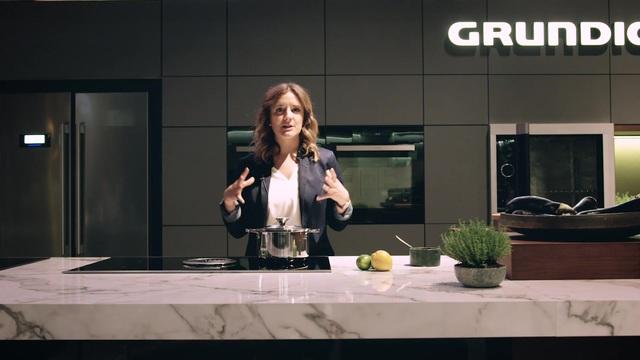 Grundig - Kochfeld mit integriertem Dunstabzug Video 2