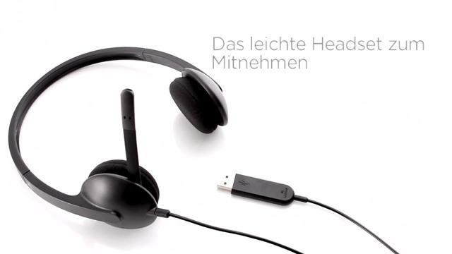 Logitech - USB Headset H340 Video 2