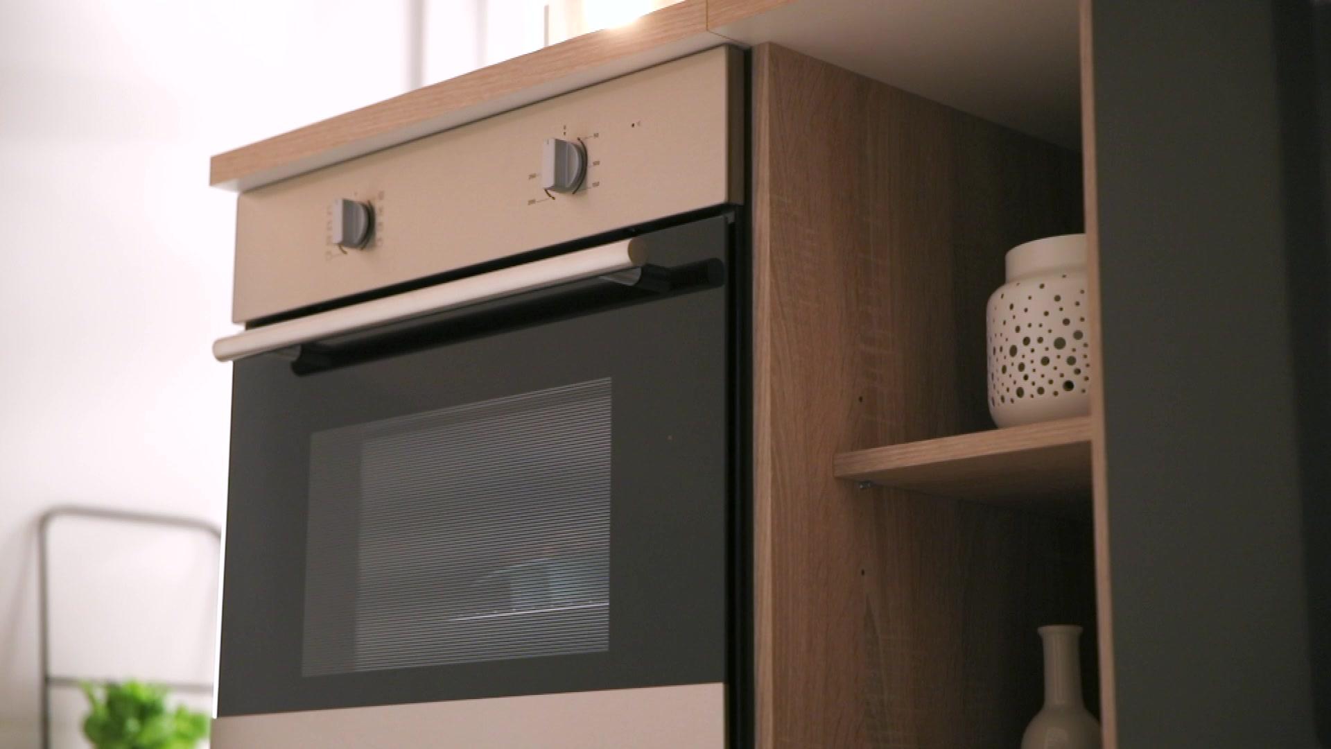 Miniküche Mit Kühlschrank Hagebaumarkt : Held mÖbel küchenzeile mit e geräten breite cm hagebau
