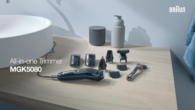 Braun - All-in-one Trimmer MGK5080 Video 3