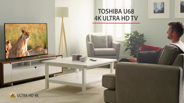 Toshiba - U68 4K Ultra HD TV Video 3