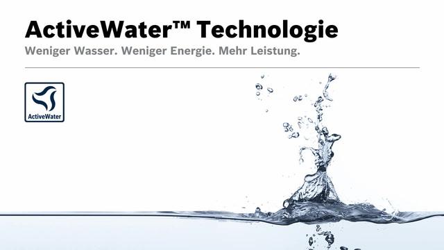 Bosch - ActiveWater Technologie Video 14