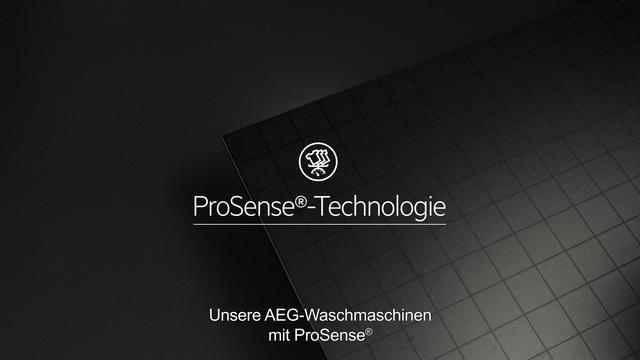 AEG - ProSense Technologie - Doppelt effektive Pflege Video 12