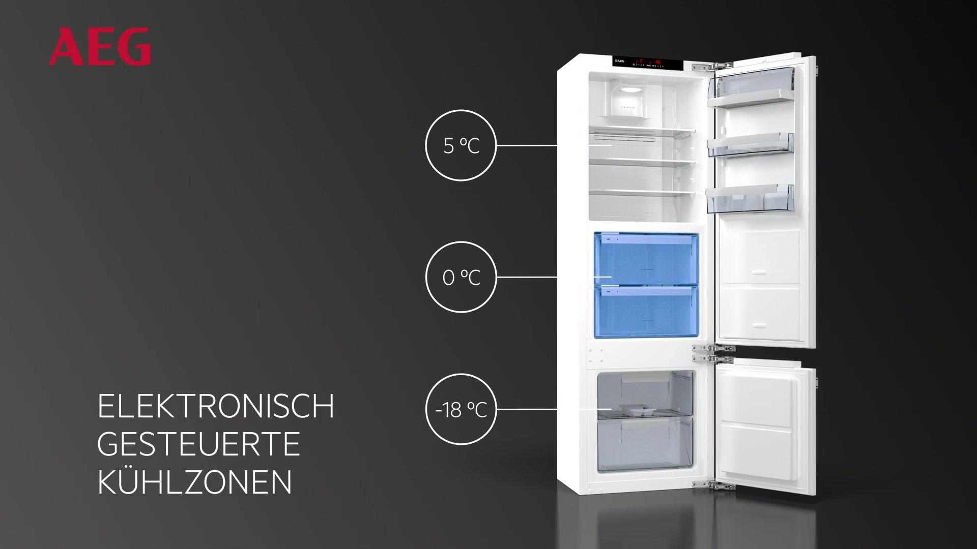 Aeg Kühlschrank Einbau : Aeg aeg integrierbarer einbau kühlschrank santo sfe zc a