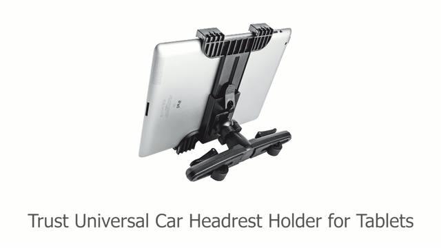 Trust - Universal Car Headrest Holder for tablets Video 3