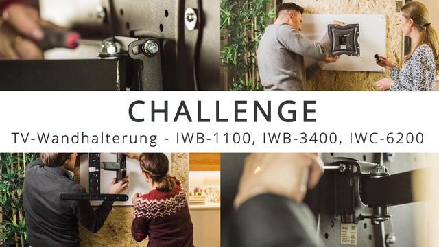 ISY - Challenge: TV-Wandhalterung installieren in 15 Minuten Video 7