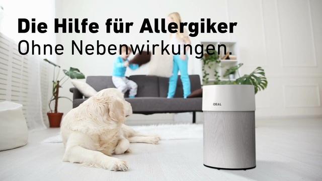 Ideal - Luftreiniger - Die Hilfe für Allergiker Video 4