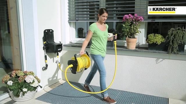 Watering Systems - Premium hose Reel HR 7.315 Video 24