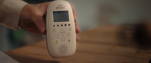 Philips Avent Audio-Babyphone SCD733/26 Video 12