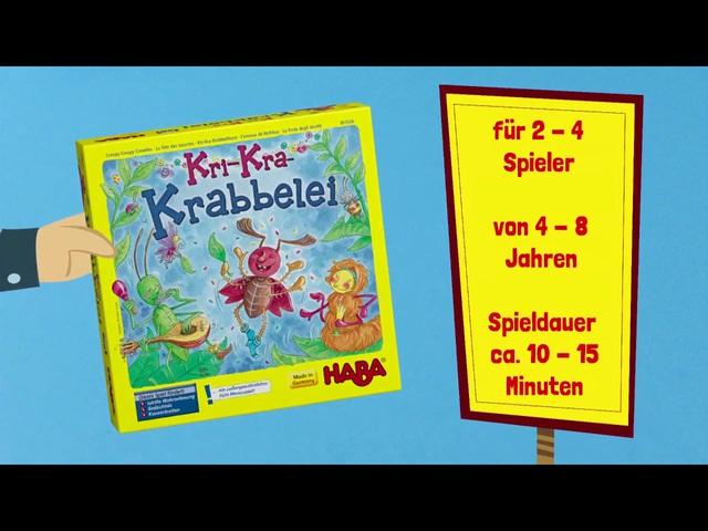 HABA Kri-Kra-Krabbelei (deutsch) Anleitungsvideo