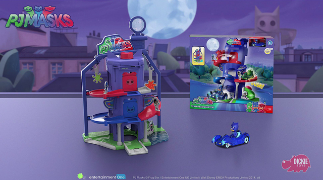 PJ Masks Team Headquarters - Aufbauanleitung - Instruction Manual Dickie Toys Video 3
