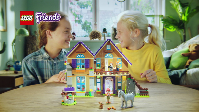 LEGO Friends - Mias Haus 41369/ Fohlenstall 41361/ Stepanies Reitturnier 41367 Video 3