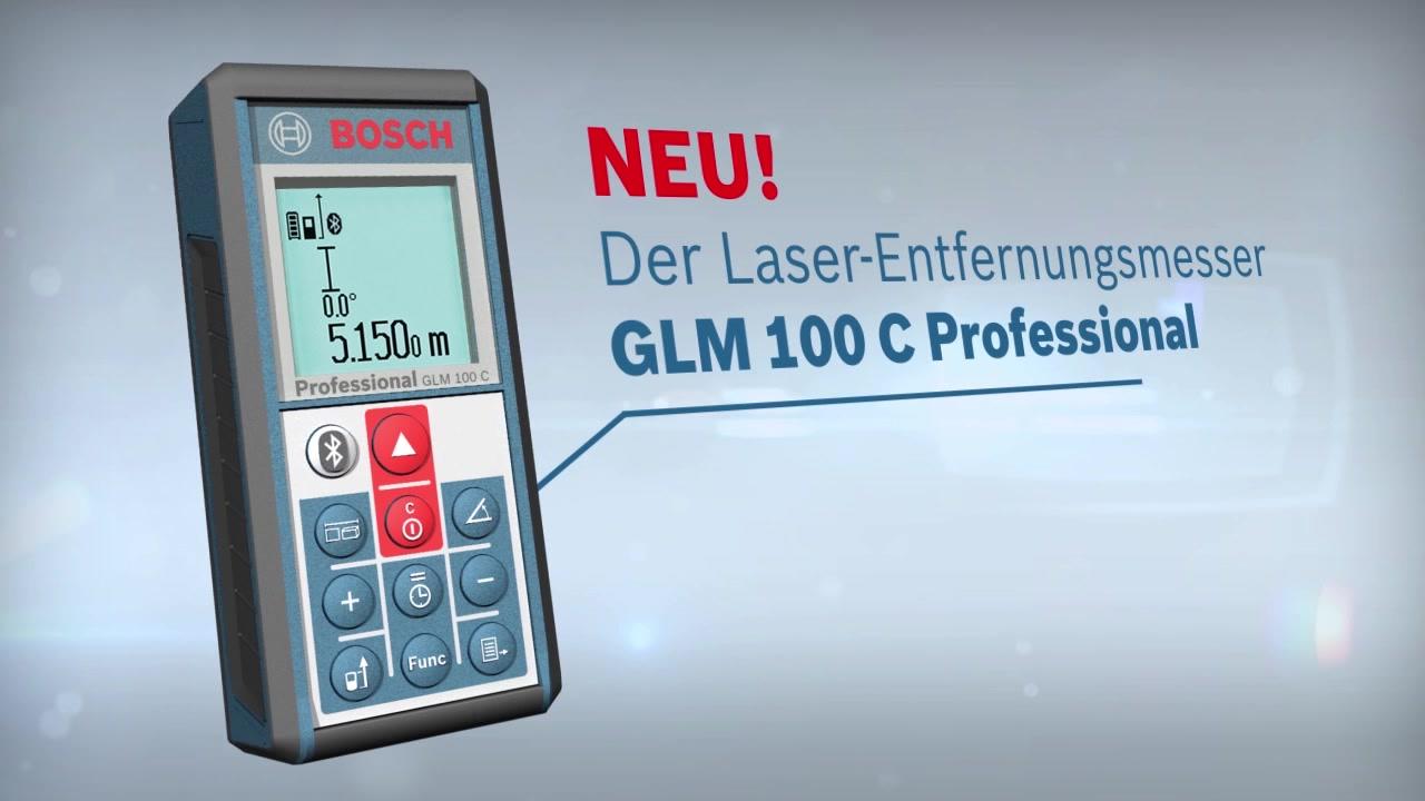 Iphone Entfernungsmesser Bedienungsanleitung : Glm 100 c laser entfernungsmesser bosch professional