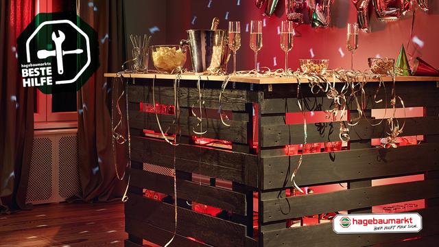 Mobile Partybar Selber Bauen Do It Yourselfie Hagebau De